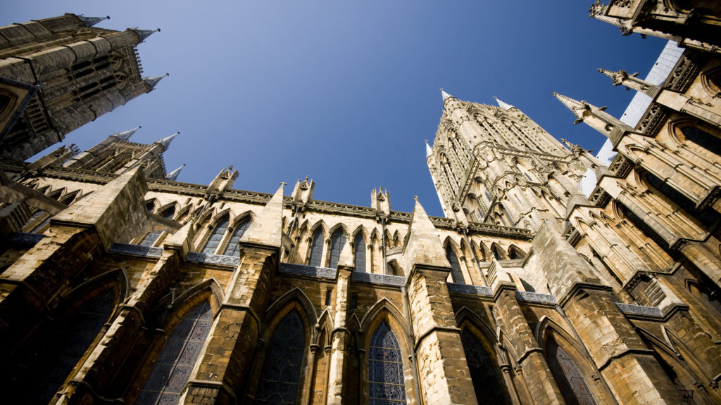 Lincoln Cathedral Ground View