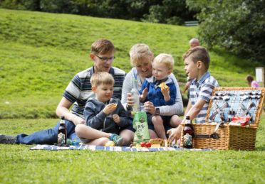 Children's Picnic in the Countryside