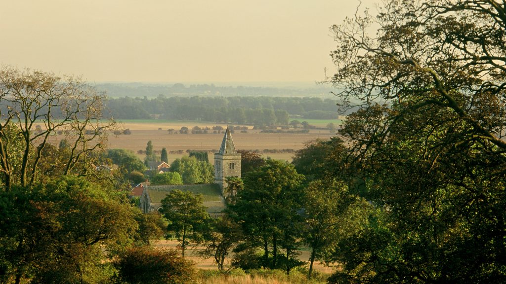 Lincolnshire Wolds church